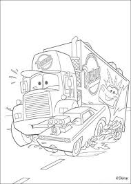 disney cars coloring pages mack. DISNEY Coloring Pages Cars Lizzie Mack Superliner Truck And Disney