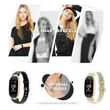 S3 <b>Bluetooth</b> Lady <b>Smart Watch IP67</b> Waterproof Fashion Women ...