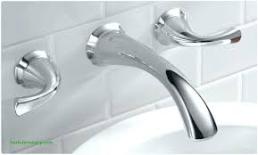 wall mounted bathtub faucets contemporary waterfall chrome finish curve spout within 0 faucet delta mou