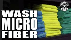 Chemical Guys Chart How To Wash Microfiber Towels Correctly Chemical Guys Microfiber Wash