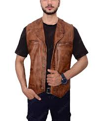 the cowboys brown on vest