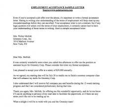 Business Letter Accepting Job Offer Granitestateartsmarket Com
