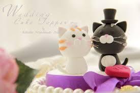 Wedding Cake Topper love cat love kitty listi…