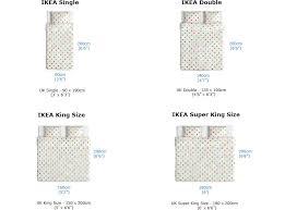 ikea bed mattress sizes