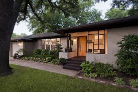 mid century modern front porch. Green Terrace Front Mid Century Modern Porch I