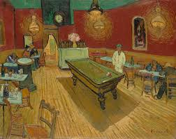 he wanted to give her this gift of flesh recipient of van gogh s  vincent van gogh the night cafe 1888 oil on canvas