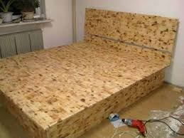 diy lift top storage bed12