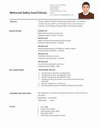 Resume Format For Experienced Medical Representative Resume