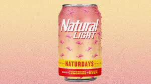 Natural Light Naturdays Natural Light Releases Strawberry Lemonade Flavored Beer