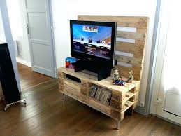 diy tv stands stand made out of pallets homemade for flat screens pallet instructions diy tv stands