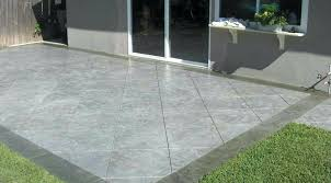 modern patio awesome cement and inspirational ideas compact full wallpaper pavers concrete vs or deck