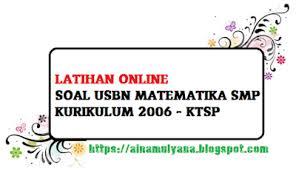 Berikut ini link download / unduh buku guru dan buku siswa kelas x sma kurikulum 2013 edisi tahun 2016 tolong dong link pdf sejarah indonesia yang penerbit erlangga,, susah banget nyarinya. Latihan Soal Us Usbn Matematika Smp Kurikulum 2006 Ktsp Tahun 2020 Pendidikan Kewarganegaraan Pendidikan Kewarganegaraan
