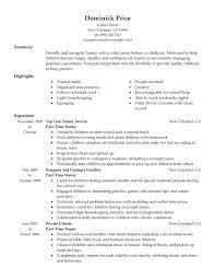 Part Time Job Resume Template Resume Bank