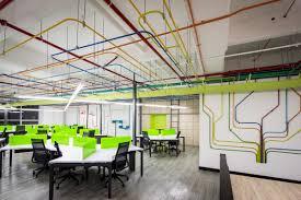 open office ceiling decoration idea. Modern Corporate Office Design Open Ceiling Decoration Idea O