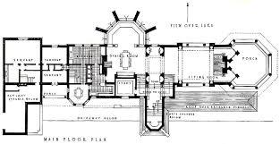 House Plan Usonian House Plans  Frank Lloyd Wright Floor Plans Frank Lloyd Wright Floor Plan