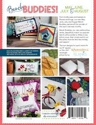 Kimberbell Designs Bench Buddy Series May August Sewing Version Project Book By Kimberbell Designs