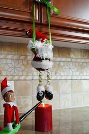 evil elf on the shelf turns out our little elf is not happy with the working