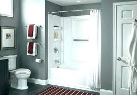 install shower door fiberglass tub removing doors from for installing