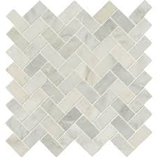 marble tile pattern. Brilliant Tile MSI Arabescato Carrara Herringbone Pattern 12 In X 10mm Honed  Marble For Tile E