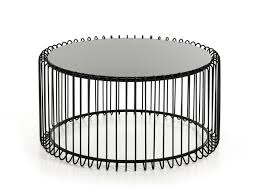 coffee table black round coffee table coffee table informa round table ferrous materials and glass