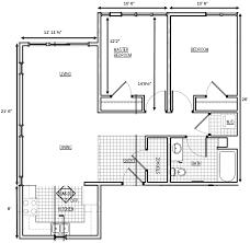 bedroom floor plan. Beautiful Plan 2 Bedroom Floorplan Inside Bedroom Floor Plan