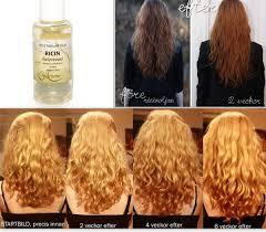 Ricinolja för håret