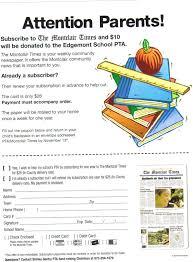 Pta Elections Flyer Fliers Edgemont Montessori Pta