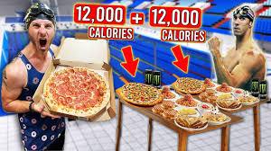 Calorie Michael Phelps Diet Challenge ...