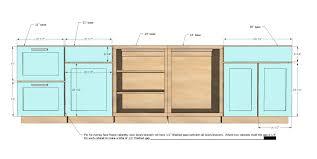 Kitchen Cabinet Height Standard Standard Sizes For Kitchen Cabinet Doors