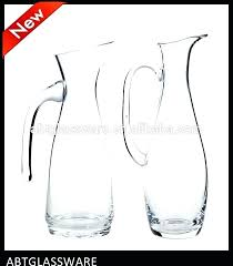 glass water jug juice for pitcher product on large with spigot terrarium j