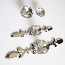 crystal furniture knobs. Engrossing Drawer Knobs Handles Glass Dresser Knob Crystal Silver Chrome Clear Cabinetpulls Handle Backplate Bling Furniture A