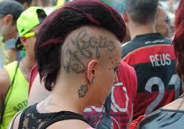 для чего делают татуировки на голове красота и здоровье