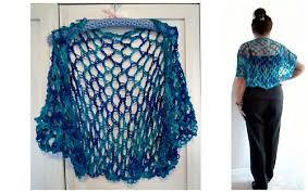 Crochet Shrug Pattern Enchanting Ravelry 48yt LACY CROCHET SHRUG Pattern By Emi Harrington
