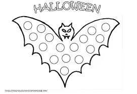 Coloriage Chauve Souris Halloween Goshowmeenergy