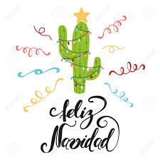 Merry Christmas Banner Print Merry Christmas Banner Happy Cactus In A Christmas Garland