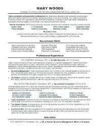 Sales Team Recruiter Resume Resume Example Collection