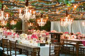 chandeliers for weddings
