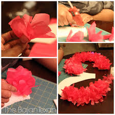 Diy Birthday Decorations Diy Party Decor Tissue Paper Birthday Number Sign Tutorial