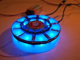 Iron Man Chest Light Diy Arc Reactor Make