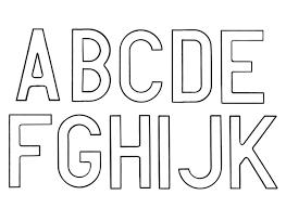 Coloriage Alphabet Simple Majuscule Et Minuscule L