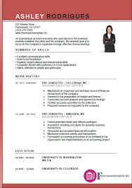 Fresh Executive Resume Templates Word Account Executive Resume