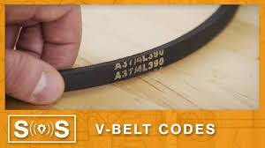 7 Rib Serpentine Belt Length Chart V Belt Code Guide Spec Sense