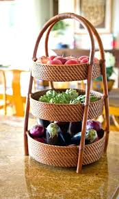 fruit basket 3 tier great for vegetables too idea design countertop storage best wire bowl before 2 stand