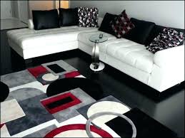 gray red area rug red black and white rug area rugs gray grey with red