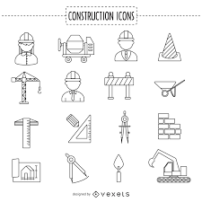 52650717143456869ba3d686c7693c96 construction stoke icon collection construction communication plan template,communication free on order tracking template excel