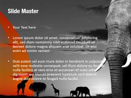 African Nature Powerpoint Templates - African Nature Powerpoint ...