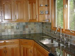 Tiled Kitchen Backsplash Classy Floor Tile That Looks Like Wood Mosaic  Large Size Of Back How To Seal Porceline Tiles Subway Rustic Flooring And Q  Green ...