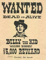 Best Photos Of Original Old West Wanted Posters Old Wild