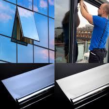2m² Spiegelfolie Fensterfolie Spiegel Folie Fenster Glas Scheiben
