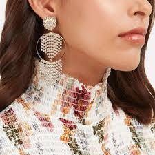 the earring style to wear to all of your holiday parties